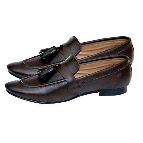 HushBerry Handmade Leather Loafer Shoes