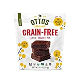 Otto's Naturals Grain-Free Classic Brownie Mix - Organic, Gluten-Free, Nut Free, Non-GMO, Made With Cassava Flour - 11.11 Ounce Bag