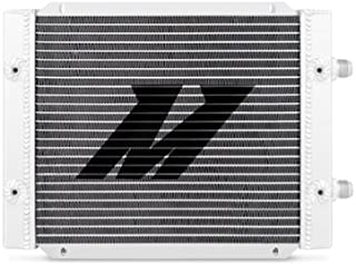 Mishimoto MMOC-25DP Universal 25 Row Dual Pass Oil Cooler, Silver