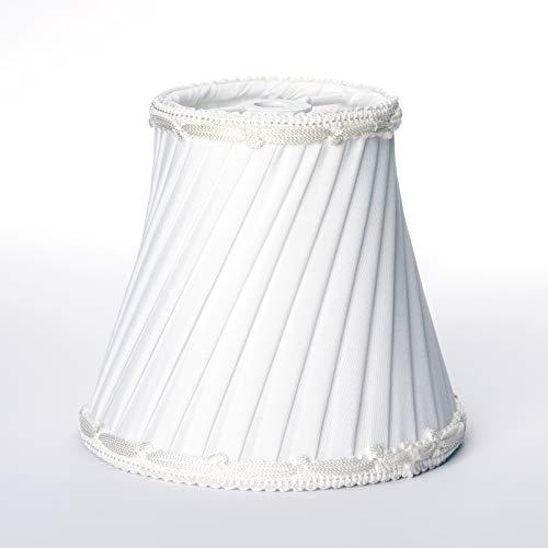 MiniSun Abat-jour de suspension pour lustre Style vintage Crème/doré