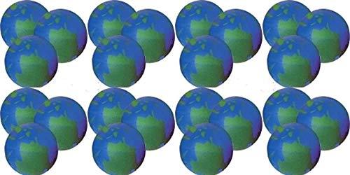 Happy Deals~ 24 pc Pack - Earth Stress Balls - Squeeze Balls