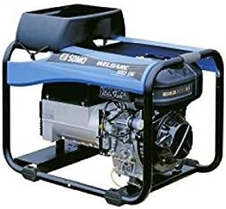 SDMO 0004298 Motosoldadora, Gama Diesel, Motor Kholer, Rutilo/Básicos/Celulósicos Electrodes, Manual/Eléctrico Arranque, 4000 W