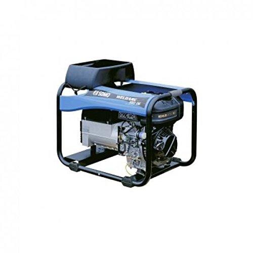 SDMO 0004298 Motosoldadora, Gama Diesel, Motor Kholer, Rutilo/Básicos/Celulósicos Electrodes, Manual/Eléctrico Arranque, 4000...