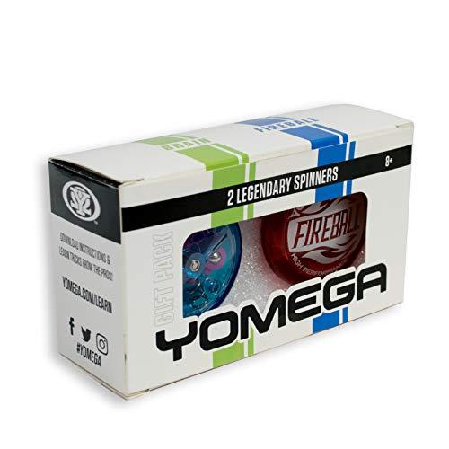 Yomega 2 Legendary Spinners The Original Yoyo With A Brain And Fireball Transaxle Yo-Yo For Kids,...