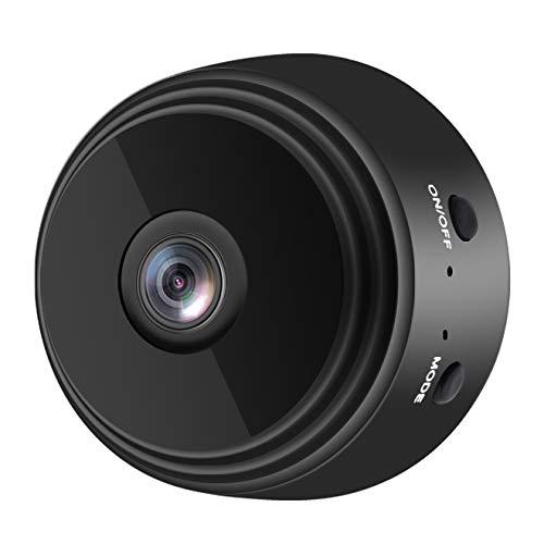 Domilay CáMara InaláMbrica HD 1080P, CáMaras de Seguridad Remotas WiFi para el Hogar, DeteccióN de Movimiento Inteligente, CáMara EspíA de VisióN Nocturna