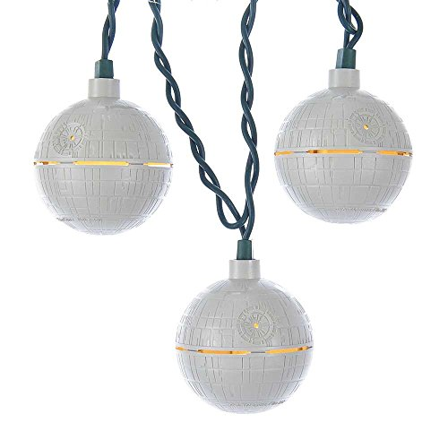 Kurt Adler UL 10 Wars Death Star Light Set