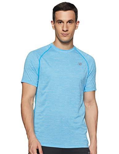 New Balance T-Shirt à Manches Courtes pour Homme Tenacity XL Vision Bleu.