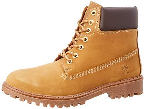 lumberjack Herren River Klassische Stiefel, Gelb (Yellow/Dk Brown M0001), 40 EU