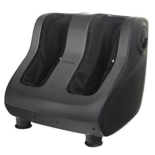 TISSCARE Foot Massager Machine with Heat - Shiatsu Foot and Calf Leg Massager Deep...