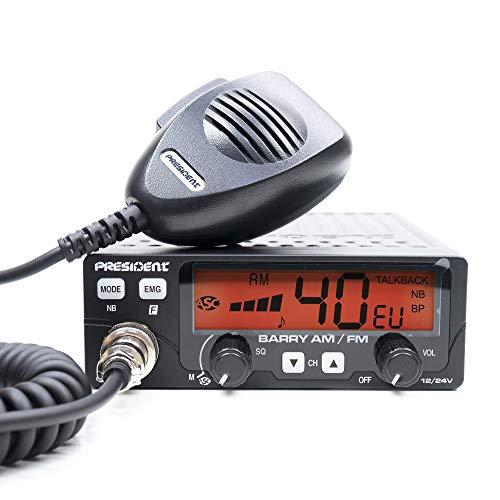 President CB Radio Barry Asc Code Txpe002
