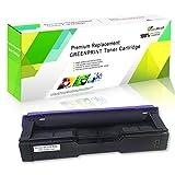 Cartucho de Tóner Compatible SP C250 C261 Negro Alta Capacidad 2300 Páginas para RICOH Aficio SP C250DN C250SF C261SFN C261SFNw C261DNw Impresoras Láser GREENPRINT