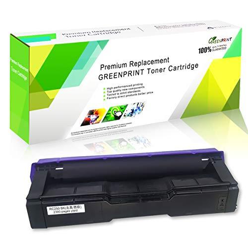 Cartuccia Toner Compatibile SP C250 C261 Nero ad Alta Capacità 2300 Pagine per RICOH Aficio SP C250DN C250SF C261SFN C261SFNw C261DNw Stampanti Laser GREENPRINT