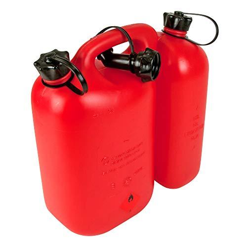Oregon 562407 Economic Combi-Can, 5+3 litres, Red