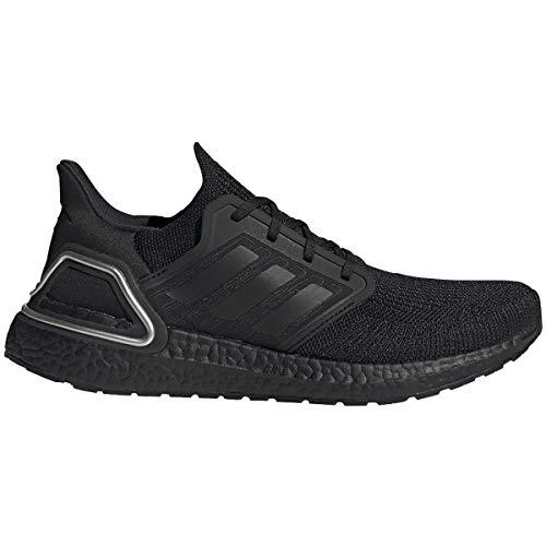 adadidas Men's Ultraboost 20 Sneaker (Core Black/Core Black/Silver Metallic, Numeric_10)