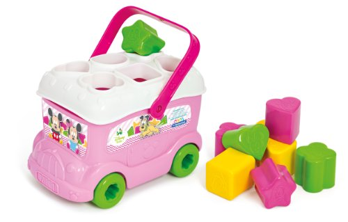 Minnie Mouse - Autobús con piezas para encajar (Clementoni 14933) , color/modelo surtido