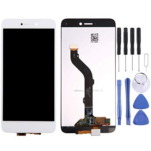 DONGYAO Pantalla LCD de repuesto para Huawei P8 Lite 2017 Pantalla LCD y digitalizador completo (color: blanco)