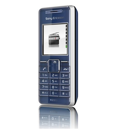 Sony Ericsson K220i Ocean Blue Handy