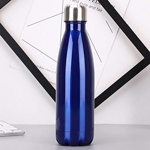 Wgath Roestvrijstalen Thermische Fles Rozen Waterfles Gouden Eco-Lege Ballon Geïsoleerd Leeg Glas Draagbare Campusfles Met Thermosflessen