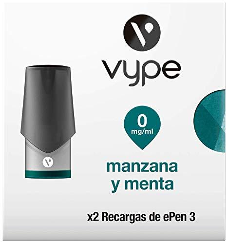 VYPE Recargas de Manzana y Menta x2 para cigarrillo electrónico