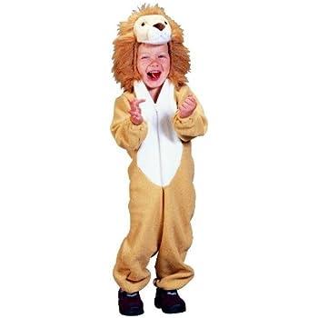 Foxxeo Traje de león para niños Traje de león Traje de león Niño ...