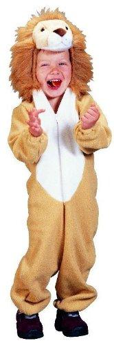 Foxxeo Löwen Kostüm für Kinder Tierkostüm Löwe Kinderkostüm Jungen Mädchen Größe 110-116