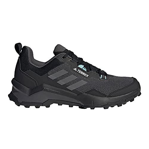 adidas Terrex AX4 W, Zapatillas de Senderismo Mujer, NEGBÁS/Gritre/TONMEN, 36 EU