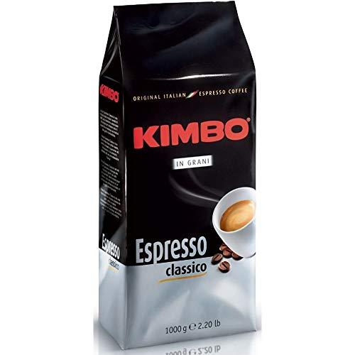 Kimbo ganze Kaffeebohnen - Espresso Classico - Röstung mittel (1kg Beutel)