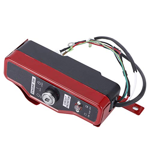 Piezas de generador de gasolina Caja de interruptor de encendido Material de hierro Control de interruptor de sustitución directa para 188F / GX390 / 190F / GX420 / 192F para accesorio de