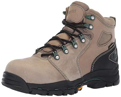 """Danner Women's Vicious 4"""" NMT Ankle Boot, brown/green, 9 M US"""