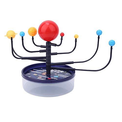 Tnfeeon DIY Scientific Modelo de 8 Planetas para niños, 2 Cajas/Paquete Suministros para experimentos físicos Escolares Kit de Sistema Solar móvil