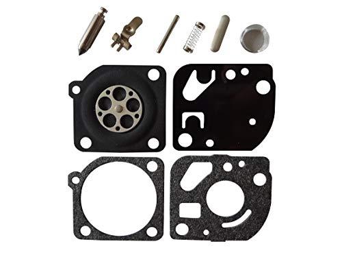 Kit de réparation/reconstruction de carburateur remplace ZAMA RB-121 pour Echo SRM2015 SRM2305 SRM2455 ZAMA C1U-K53