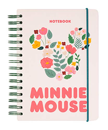 Erik Bullet Journal Notizbuch Disney MINNIE MOUSE - Hard Cover Notizblock A5 mit Spiralbindung