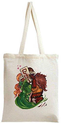 Dota 2 Hero Wind Ranger X Juggernaut Tote Bag