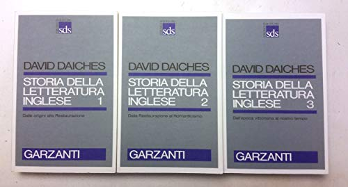 Storia Della Letteratura Inglese. Vol. I, Ii E Iii