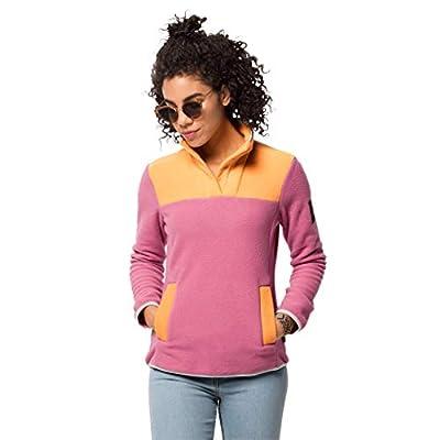 Jack Wolfskin Women's 365 Flash Fleece, Pink Champagne, L