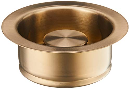 Delta Faucet 72030-CZ Disposal and Flange Stopper, Kitchen, Champagne Bronze, 4.50 x 4.50 x 4.50 inches