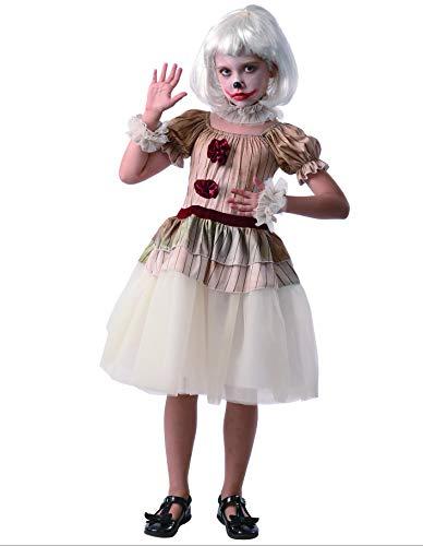 PARTY FIESTA Disfraz Payasa Creepy (7-9)