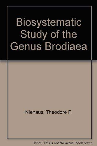 Biosystematic Study of the Genus Brodiaea