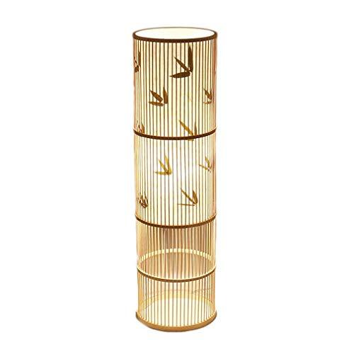 TATANE Vloerlamp Staande Licht, Bamboe Wicker Lampenkap Vaas Vloerlamp Lampen, Nordic Art Lamp Accessoires Lampen Vloerlampen Indoor Verlichting