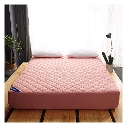 WYJHNL Queen matrasbeschermer matrasbeschermer met ademende katoenen binnenkant kern diepe zak matrasbeschermer gewatteerd passend matrastopper past voor matrasdiep 2-11