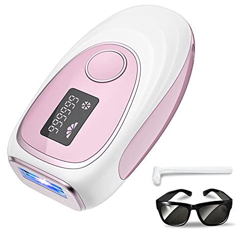 IPL Depiladora de luz pulsada 999,999 flashes, sistema de depilación con punto de congelación, equipo profesional, utilizado para piernas, rostro y cuerpo