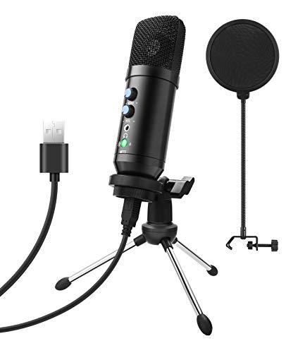 ShinePick PC Mikrofon, USB Kondensator Mikrofon, Recording P