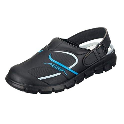 Abeba 7331-35Dynamic - Scarpe, sandali sabot, Taille 39, nero/blu