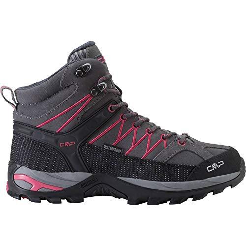 CMP Rigel MID WMN WP ID Chaussures de randonnée, U739 GREY, Taille 37