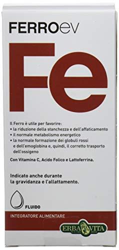 Erba Vita Integratore Alimentare Ferro Ev Fluido - 250 ml