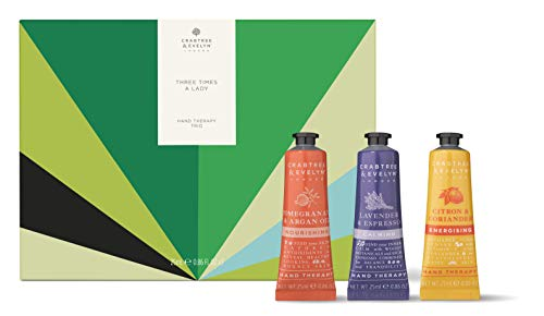 Crabtree & Evelyn Three Times A Lady Hand Therapy Trio