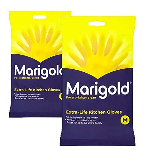 Marigold Extra Life Kitchen Gloves Medium 2 Pairs