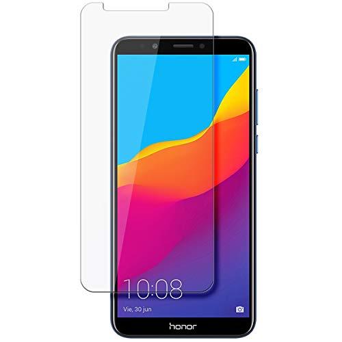 disGuard Schutzfolie für Huawei Honor 7C Pro [2 Stück] Kristall-Klar, Bildschirmschutzfolie, Glasfolie, Panzerglas-Folie, Bildschirmschutz, extrem Kratzfest, Schutz vor Kratzer, transparent