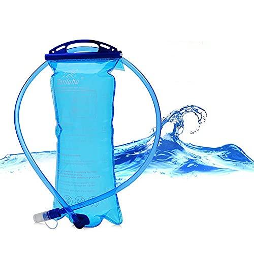 LKUY 1.5L/2L/3L Gran Apertura de Hidratación Airbag Vejiga Bolsa de Agua Bolsa de Agua Deportes al aire libre Correr Camping Senderismo Bicicletas Viaje Tanque de Agua Bolsa Bolsa de Agua (Pequeña)
