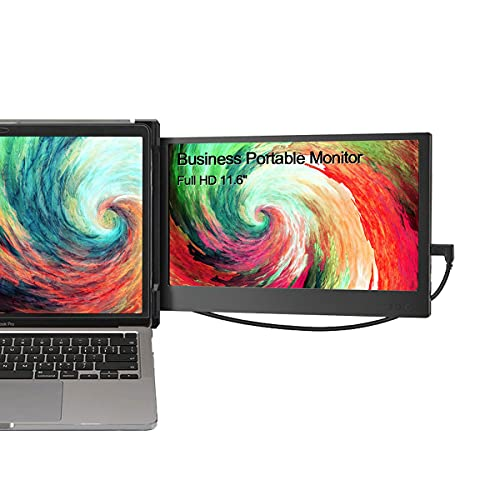 Teamgee Portable Monitor for Laptop, Monitor Extender for Dual Monitor Display, Laptop Screen Laptop Workstation Portable Monitor HDMI/1080p/13-16 inches Mac Windows Chrome Laptop (Dual Monitor)